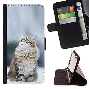 /Skull Market/ - NORWEGIAN SNOW CAT For Samsung Galaxy Core Prime - Caja de la carpeta del tir???¡¯???€????€?????????&Atild