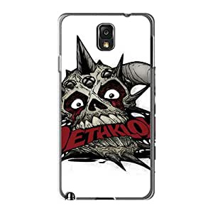 Best Hard Phone Case For Samsung Galaxy Note 3 With Customized Attractive Dethklok Skin JoannaVennettilli