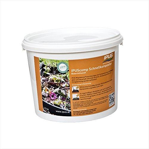 ipus Comp - Acelerador./compostador rápido 2, 5 kg: Amazon.es: Jardín