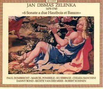 Jan Dismas Zelenka: 6 Sonatas for two Oboes and Bassoon - Dombrecht, Ponseele, Ebbinge, Bond