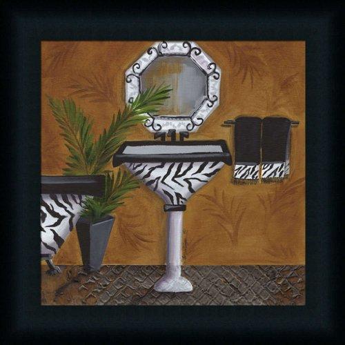 zebra bathroom pictures - 2