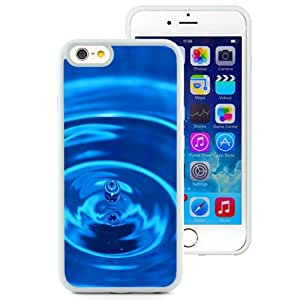 Beautiful Unique Designed iPhone 6 4.7 Inch TPU Phone Case With Macro Water Drop Ripples_White Phone Case