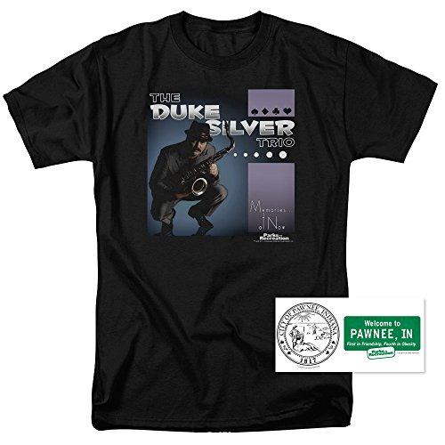 Parks & Rec Duke Silver Trio Smooth Jazz T Shirt