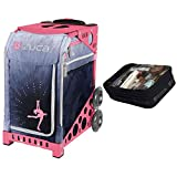 Zuca Ice Dreamz Lux Sport Insert Bag & Pink Frame + Gift Utility Pouch