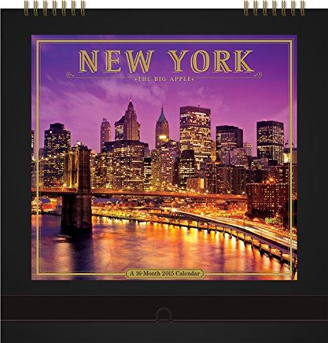 Orange Circle Studio Gallery Series 16-Month 2015 Wall Calendar, New York: The Big Apple (62035)