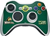 Wright State University Xbox 360 Wireless Controller Skin - Wright State Vinyl Decal Skin For Your Xbox 360 Wireless Controller