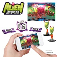 WowWee W0160 AppGear Alien Jail Break Edition Mobile Application Game for Apple or Android Devices -