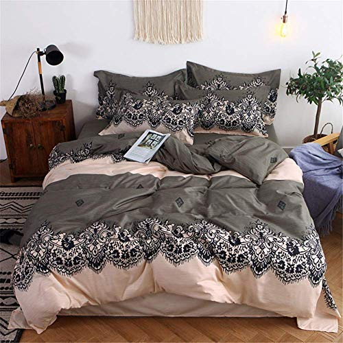 - Bedding Set Bedspread Duvet Cover Double Bed Sheets Linens Queen King Adult B 180x220cm