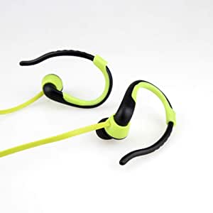 Player USB Neckband Sports Running Mp3 with Earphone Support 16GB Micro SD TF Card AXCDE (Color : Green)