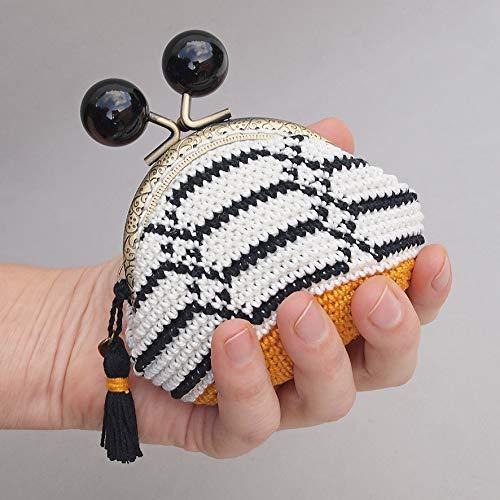 Monedero con boquilla redonda de diseño de hexágononos ...