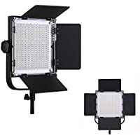Bi-color Metal LED Video Light for Studio, YouTube, Product Photography, Video Shooting,Dimmable 600 Beads,With LCD Digital Display Continuous Lighting Panel ,Slim, Ultra Bright Light , 3200-5600K