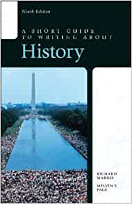 Short Guide to Writing about History, A, 7th Edition