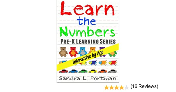 Book 1 Learn the Numbers (Pre-K Learning Series) - Kindle edition ...