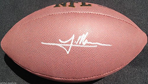 TRE MASON SIGNED NFL FOOTBALL ST LOUIS RAMS AUBURN TIGERS PROOF COA J1 ()