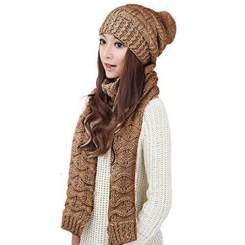 XILALU Women's Warm Woolen...