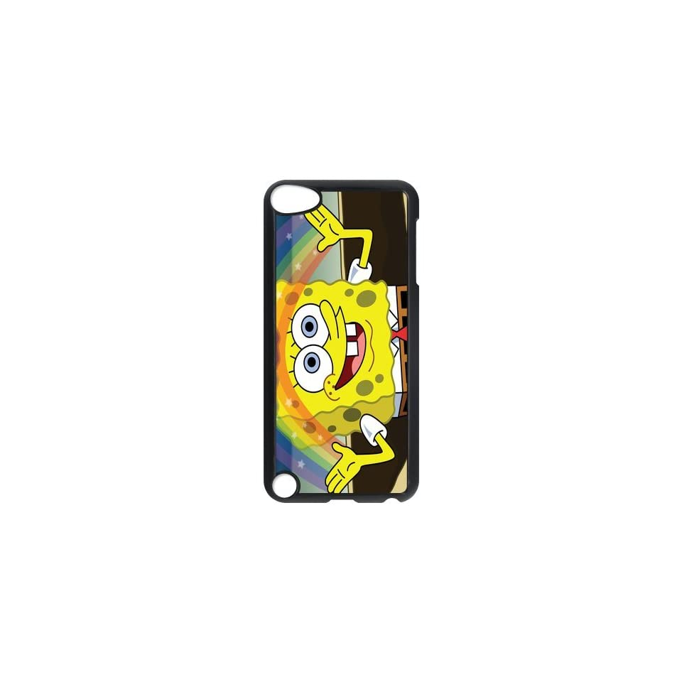 Personalized Music Case SpongeBob SquarePants iPod Touch 5th Case Durable Plastic Hard Case for Ipod Touch 5th Generation IT5SS142