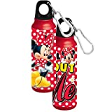 1 X Disney's Minnie Mouse - All About Me - Aluminum Water Bottle Disney