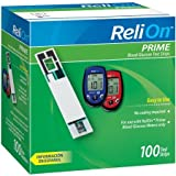 #4: ReliOn Prime Blood Glucose Test Strips, 100 Count, Single Pack (2)