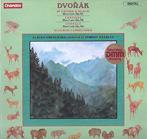 Price comparison product image Vernon Handley: Dvorak Overtures LP VG++ UK Chandos ABRD 1163