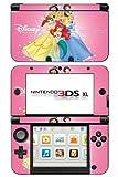 Princess Ariel Jasmine Belle Snow White Sleeping Beauty Game Skin for Nintendo 3DS XL Console