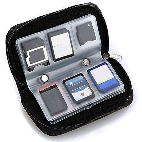 ... MMC CF para tarjeta de memoria Micro SD bolsa de almacenamiento bolsa bolsa caja soporte funda protectora cartera al por mayor tienda: Amazon.es: Hogar