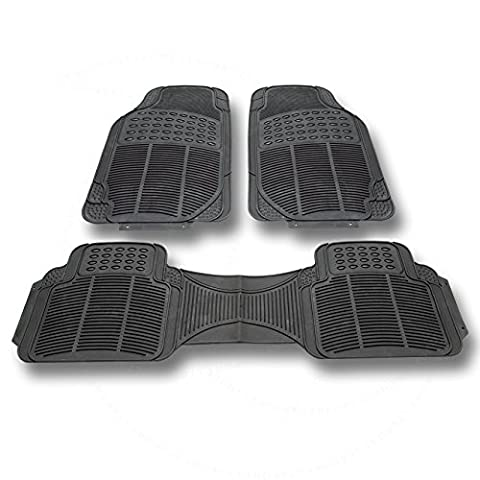 LT Sport SN#100000000776-310 For Dodge All Weather Protection Full set Rubber Floor Mat (Rubber) - 1995 Dodge Neon Rubber