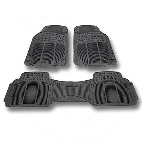 LT Sport SN#100000000776-307 For Chevrolet All Weather Protection Full set Rubber Floor Mat (Rubber) Beretta Front Floor Mat