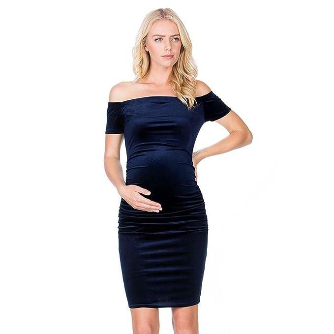 a00292841 Fartido - Vestido sólido para Embarazada