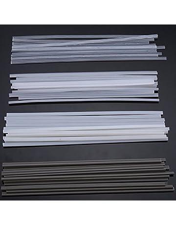 MASUNN 50Pcs Plástico Varillas De Soldadura Abs/Pp/Pvc/Pe Soldadura Palos 200