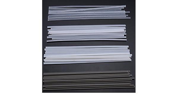ChaRLes 50Pcs Plástico Varillas De Soldadura Abs/Pp/Pvc/Pe Soldadura Palos 200Mm Para Soldadura De Plástico: Amazon.es: Bricolaje y herramientas