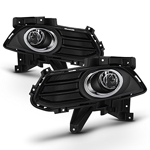 13 Fusion - For 13-16 Ford Fusion Clear Bumper Driving Fog Lights W/Bezel + Switch + Wiring + Bulb
