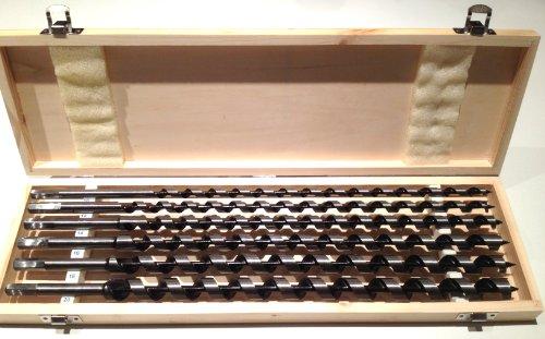 Schlangenbohrer-Satz 460mm , 10 - 20mm , 6-teilig , Holzbohrer