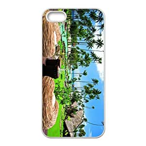 The Beautiful Vacational Village Hight Quality Case for Iphone 5s