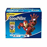Health & Personal Care : GoodNites Bedtime Bedwetting Underwear for Boys, Size S/M, 74 ct. (pack of 2)