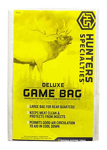 - Hunters Specialties Deluxe Field Dressing Game Bag