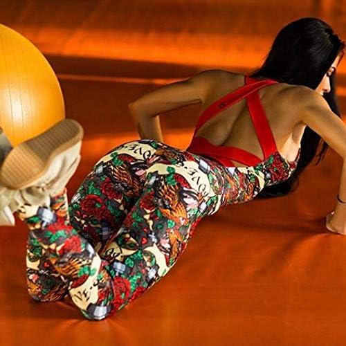 Dreamyth-Summer Women Backless Sleeveless Bandage Sport Yoga Fitness Jumpsuit 2020 7