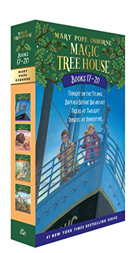 Magic Tree House Volumes 17-20 Boxed Set: The Mystery of the Enchanted Dog (Magic Tree House (R)) (History Of The Christmas Tree For Kids)