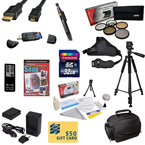 47th Street Photo Must Have Accessory Kit for the Nikon D7100, D7000 - Kit Includes: 32GB High-Speed SDHC Card + Card Reader + Extra Battery + Travel Charger + 67MM 5 Piece Pro Filter Kit (UV, CPL, FL, ND4 and 10x Macro Lens) + HDMI Cable + Padded Gadget  by 47th Street Photo