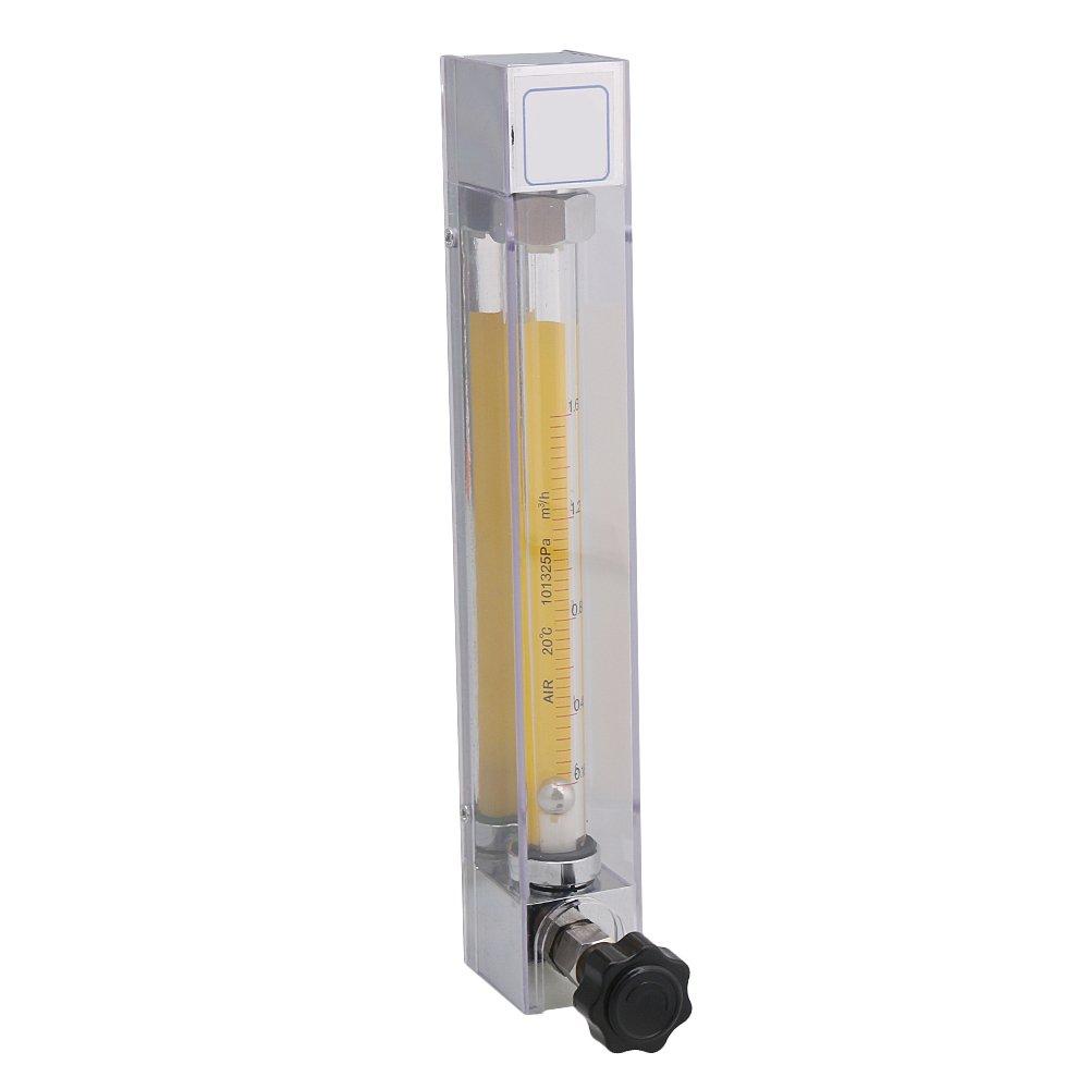 Cnbtr Lzb-10 160– 1600l/H d'oxygè ne Flowmeter Air gaz au mè tre pour tuyau de 12 mm travailler sous pression 1 MPA yqltd M6180625056