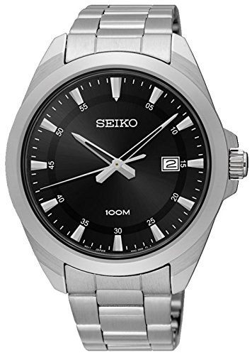 SEIKO-Quartz-Gents-Stainless-Steel-Bracelet-Watch