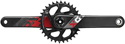 SRAM NX Eagle DUB 165mm Crankset with 32t X-Sync 2 Direct Mount Steel Chainring