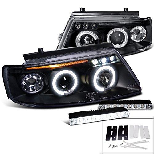 Black Passat Projector Headlight Bumper
