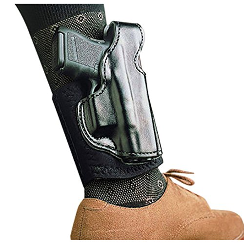 Right Hand Black Holster Ankle - DeSantis Die Hard S&W Shield Right Hand Black