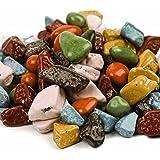 SweetGourmet Choc-O-Rocks, Chocolate Shaped Rock Candy (1Lb)