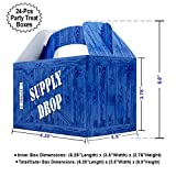 Supply Drop Favor Box | 24 Count Party Treat