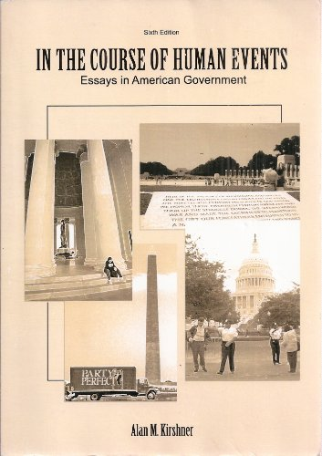 american course essay event government human in in The challenge of democracy  you succeed in your american government course whether you are  government is the legitimate use of force to control human.