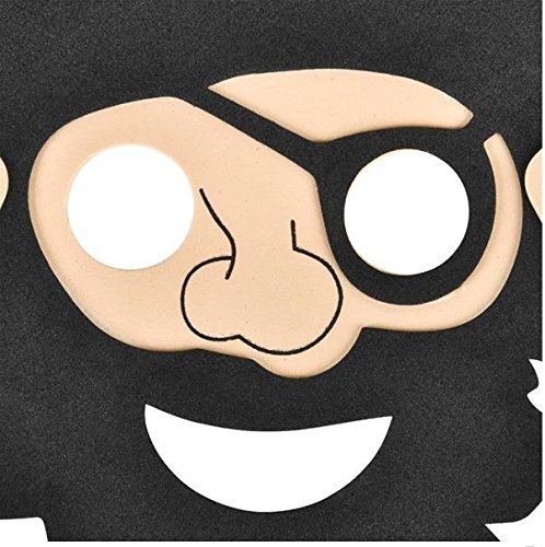 10 Foam Pirate Mask 1 Dozen Grab bags and Prize Items Costumes Great Parties