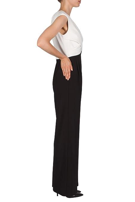 eacb583d2dbc Joseph Ribkoff Jumpsuit Style 181042 Black White  Amazon.co.uk  Clothing