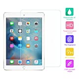 Cuitan Premium 9H Hardness Tempered Glass Screen Protector for Apple ipad Mini 4, 0.3mm Thick Anti-scratch Anti-fingerprint Clear Transparent Screen Protector Film Protection Screen - Transparent