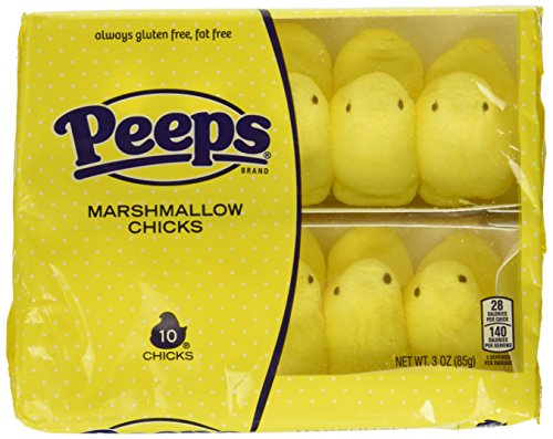 Peeps Yellow Chicks/10-Cnt